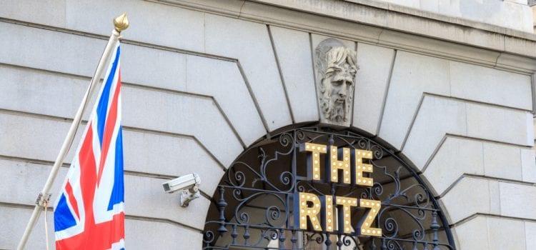 London's Ritz Hotel