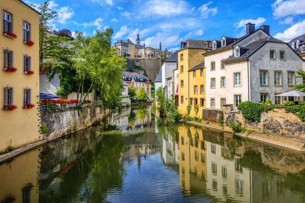 Luxembourg town centre