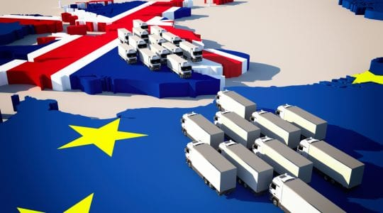 UK logistics market