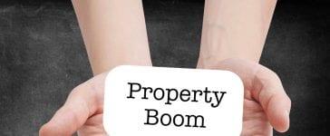 Property market boom