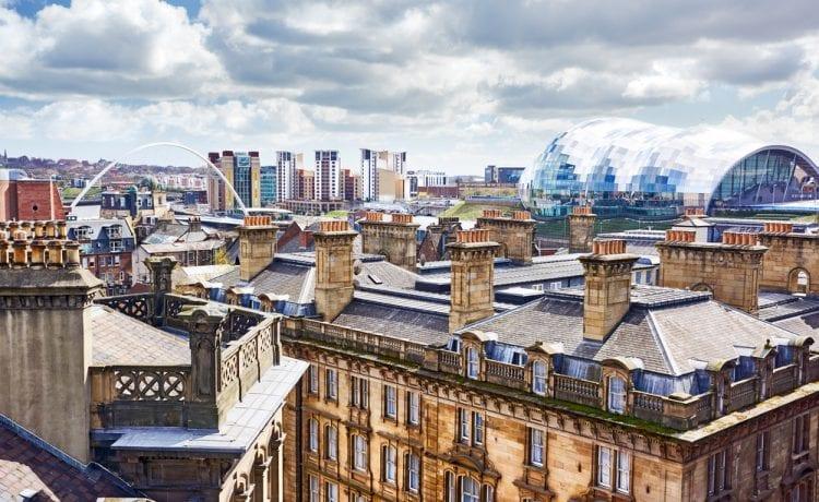 Newcastle UK building