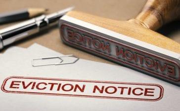 eviction ban
