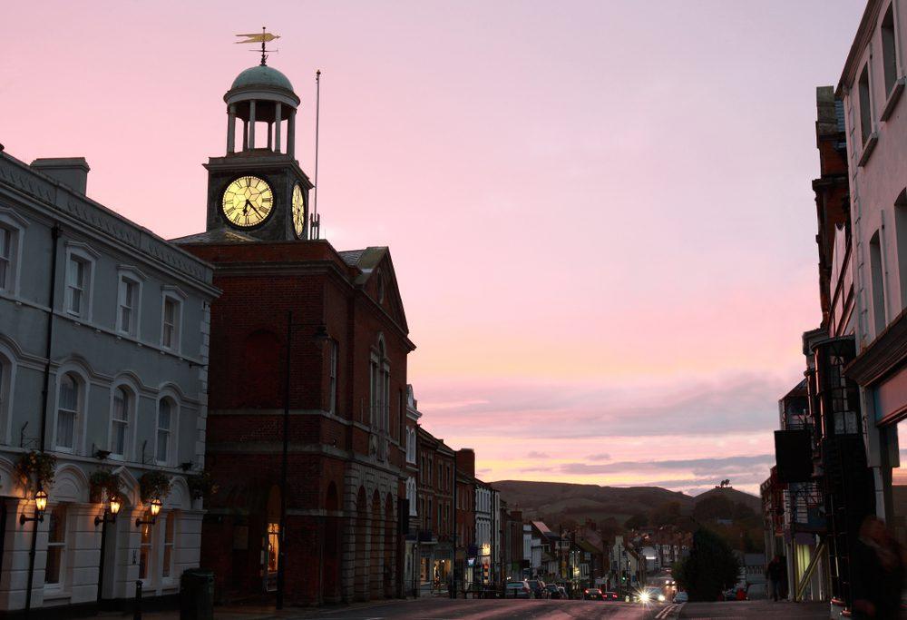 Bridport town centre
