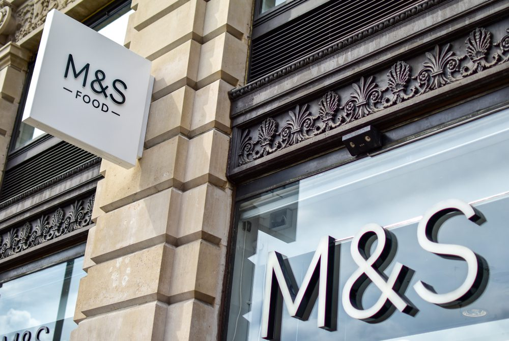 M&S store building