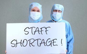 Staff shortages